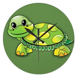 Schildkröte-Wanduhren Große Wanduhr