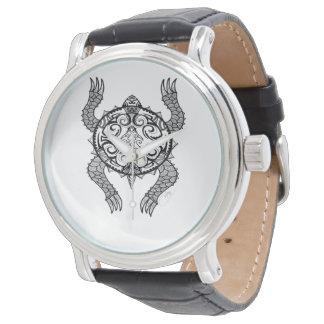 Schildkröte-Zeichnen Uhr
