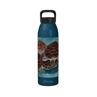 Schildkröte-Zeit Wasserflasche