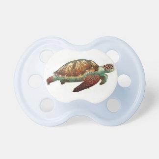 Schildkröteattrappe Schnuller