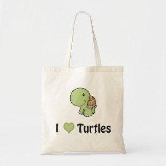Schildkröten des Herzens I Budget Stoffbeutel