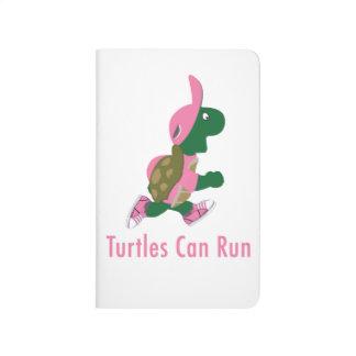 Schildkröten können laufen taschennotizbuch