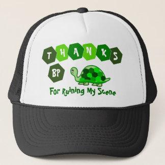 Schildkröten sagen Dank BP Truckerkappe