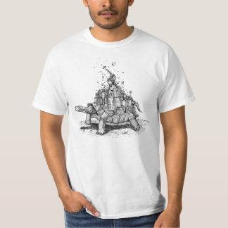 Schildkröten-Stadt Tshirts