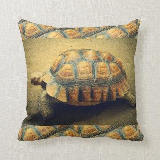 Schildkröten-Strand-Muschelthrow-Kissen Kissen