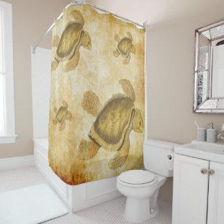 Schildkröten ver 2 duschvorhang