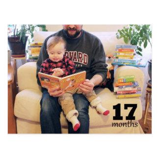 Schilf - 17 Monate Postkarte