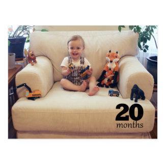 Schilf - 20 Monate Postkarte