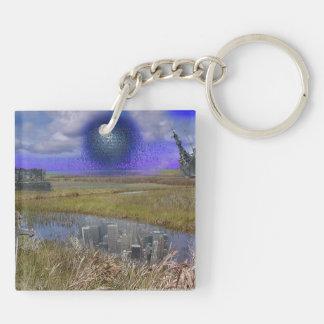 Schilfruinen, Reed Ruins Schlüsselanhänger