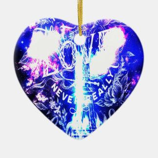 Schillernde Pariser Träume die diese Liebe wir Keramik Ornament