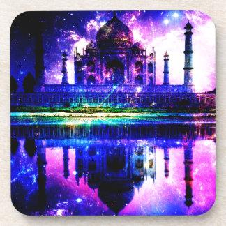 Schillernde Taj Mahal Träume Untersetzer