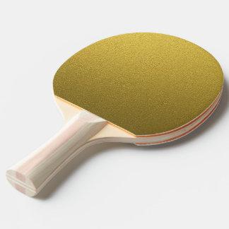 Schillernder GoldGlitter Tischtennis Schläger