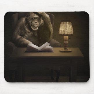 Schimpanse-Affen-Affe Mauspads