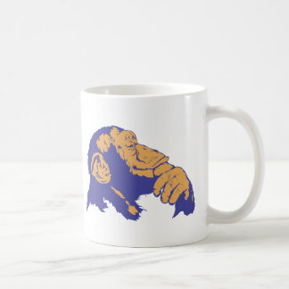 Schimpanse-Denken Kaffeetasse