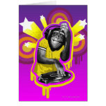 Schimpanse DJ Karten