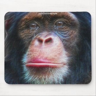 Schimpanse-Erhaltungs-Tier-Kunst Mousepad