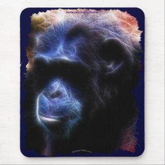 Schimpanse gefährdeter Tier-Anhänger Mousepad