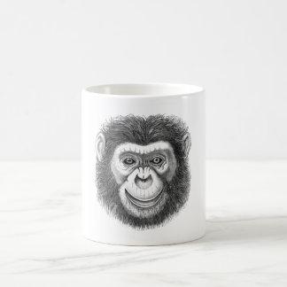 Schimpanse-Kaffee-Tasse Kaffeetasse
