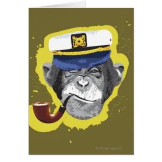 Schimpanse-Pfeife Karte
