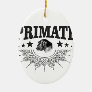 Schimpanse-Primat Keramik Ornament