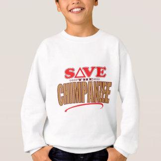 Schimpanse retten sweatshirt