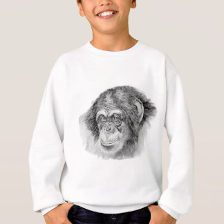 Schimpanse Sweatshirt