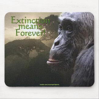 Schimpanse u. Regenwald Tier-Unterstützung Mousepads