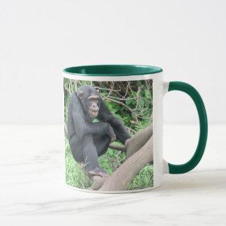 Schimpansen der Liebe I Tasse