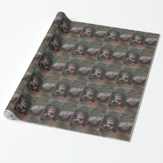 Schimpanseschießen Geschenkpapier
