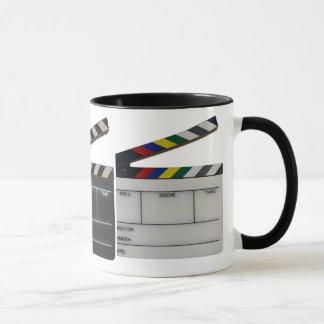 Schindelfilm-Filmemacherschiefer Tasse