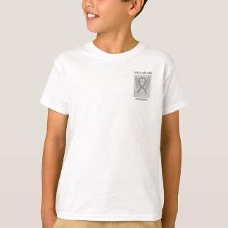 Schizophrenie-silbernes T-Shirt