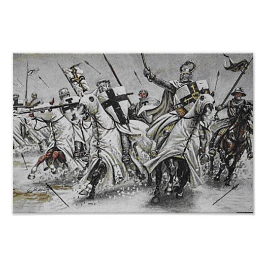 Schlacht des Deutschen Ordens Poster