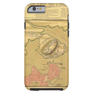 Schlachtfeld des Kampfes von Bunker Hill-Karte Tough iPhone 6 Hülle