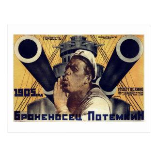 """""""Schlachtschiff Potemkin"""" Postkarte"""