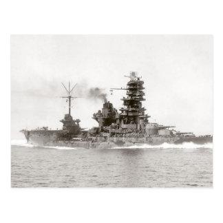 Schlachtschiff-Träger Hyuga Postkarte