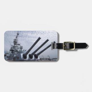 Schlachtschiff USS Alabama Kofferanhänger
