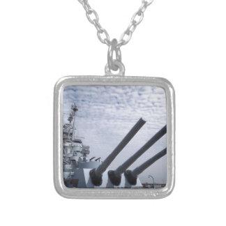 Schlachtschiff USS Alabama Versilberte Kette