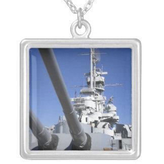 Schlachtschiff USSs Alabama am Versilberte Kette