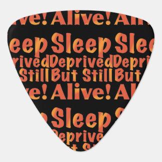 Schlaf beraubt aber noch lebendig in den plektron