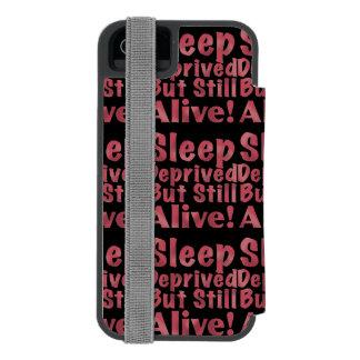 Schlaf beraubt aber noch lebendig in der Himbeere Incipio Watson™ iPhone 5 Geldbörsen Hülle