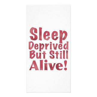 Schlaf beraubt aber noch lebendig in der Himbeere Karte