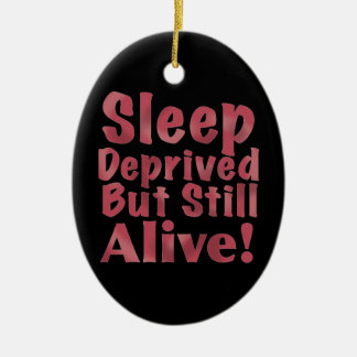 Schlaf beraubt aber noch lebendig in der Himbeere Keramik Ornament