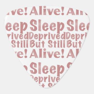 Schlaf beraubt aber noch lebendig in der staubigen plektron