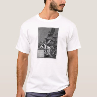 Schlaf Francisco Goya- des Grundes produziert T-Shirt