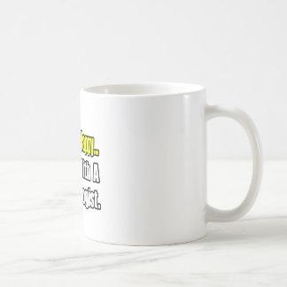Schlaf mit einem Psychologen Kaffeetasse