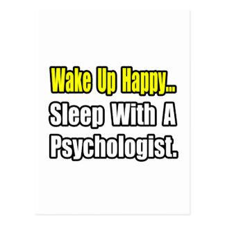 Schlaf mit einem Psychologen Postkarte