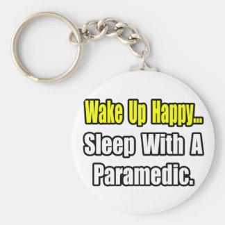 Schlaf mit einem Sanitäter Schlüsselanhänger