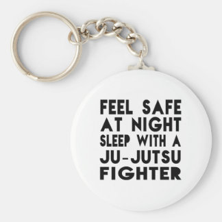 Schlaf mit Ju-Jutsu Kämpfer-lustigen Entwürfen Schlüsselanhänger