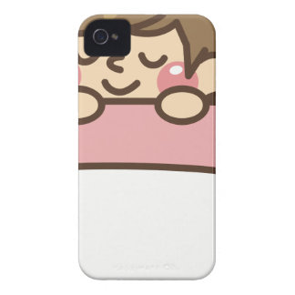 Schlafen im Bett iPhone 4 Case-Mate Hülle