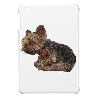 Schlafen Yorkie iPad Mini Hülle